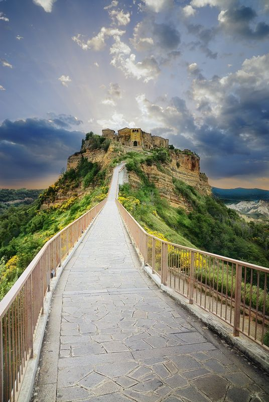 Civita Di Bagnioregio By Jaropienza Places To Travel Places To