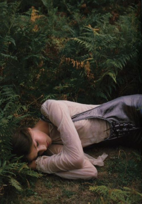 """""""Find your way through the woods to a place of magic and dust"""". Photographed by Clare Shilland"""