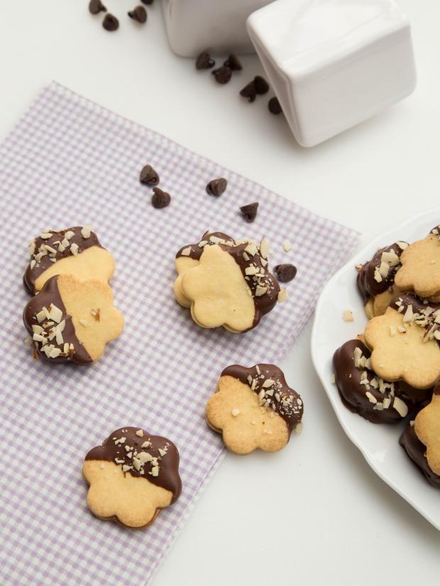 Ducle de leche Sandwich cookies