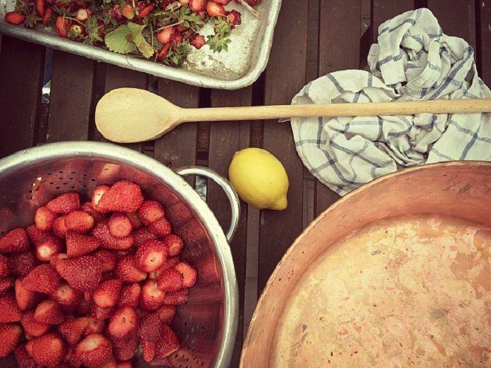 Erdbeermarmelade ohne Gelantine