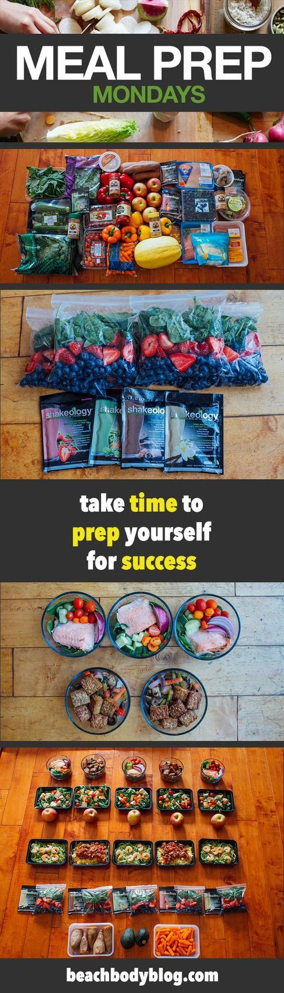 This Week, We Make Meal Prep Easy With Smoothie Bags For Shakeology  Breakfasts Find