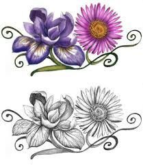 Tattoo ideas- sweet pea & daisey flower for April | Tattoo ...