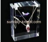 Custom design jewelry display stands jewellery display blocks large necklace holder JDK-133