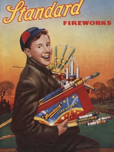Standard Fireworks - when Bonfire Night was November 5th - not September-January like it seems to be now!