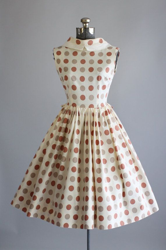 Vintage 1950s Dress / Tuesday Rose Vintage