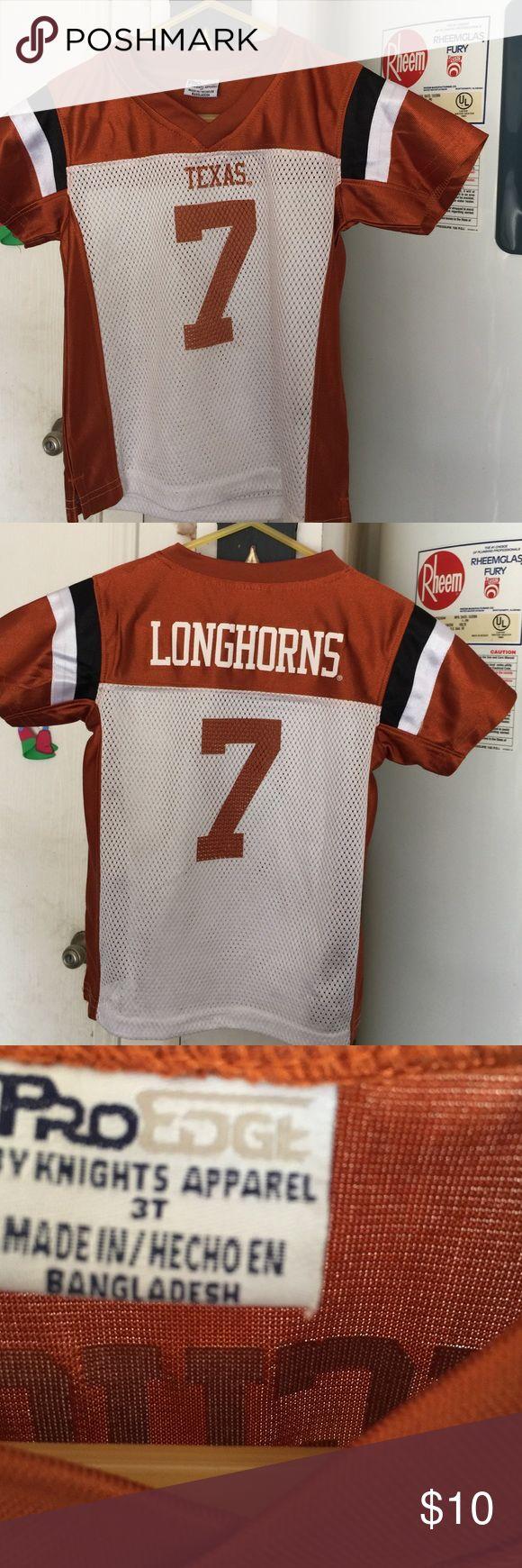 Texas longhorn jersey Long horns jersey 3t Shirts & Tops Tees - Short Sleeve