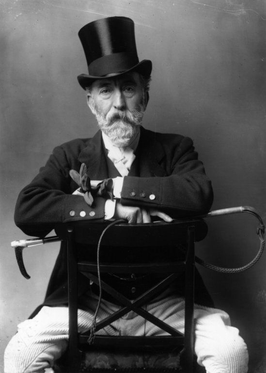 Colonel Langford Brooke, Master of the Hunt, May 1, 1902.