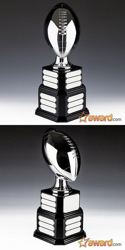 Other Football 2024: Fantasy Football Trophy Perpetual - 21 Or 24 Years - Life-Sized- Ships 1 Day -> BUY IT NOW ONLY: $199.9 on eBay!