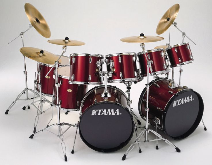 MY DRUM SET, BUT TWO OF THEM COMBINED INTO ONE! HER NAME IS, LUCY! Why? Because of her color, like Lucy Ball