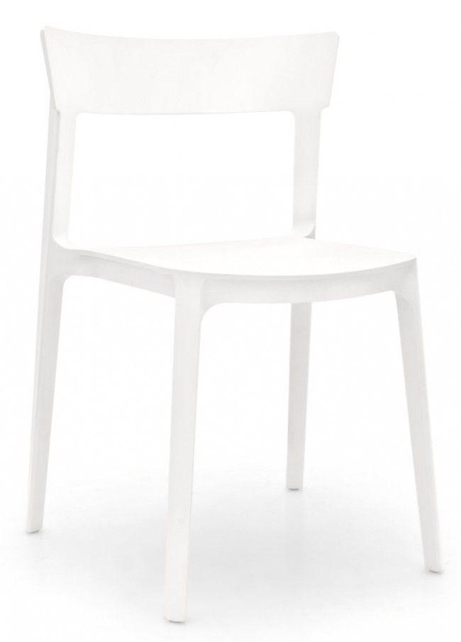 Skin Stol Vit - Matstolar - Stolar - Möbler | Folkhemmet