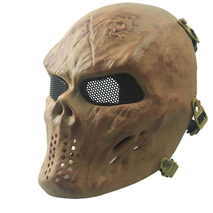 Scary Skull Masks Breathable Camouflage Tactical CS Mask TPR Paintball Airsoft //Price: $31.99 & FREE Shipping //     #hunting #camping #outdoors #pocketdump #knives #knifeporn