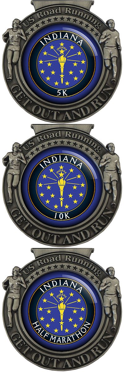US Road Running - State Series - Indiana Virtual Race Ended 08.31.2015