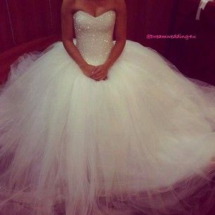 Looks similar to my dress!! Love the princess look!!! All that tulle -- so gorgeous!