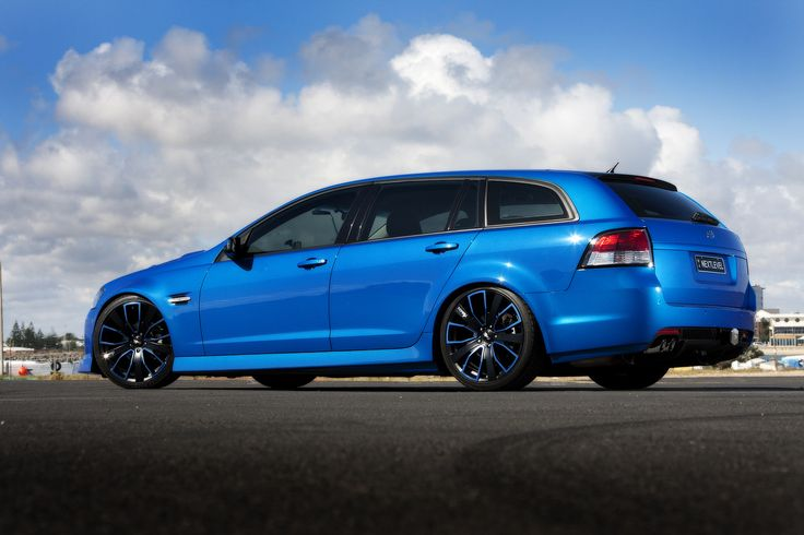Holden Commodore wagon...this thing is SWEET! Basically a Pontiac G8 GXP wagon...xD