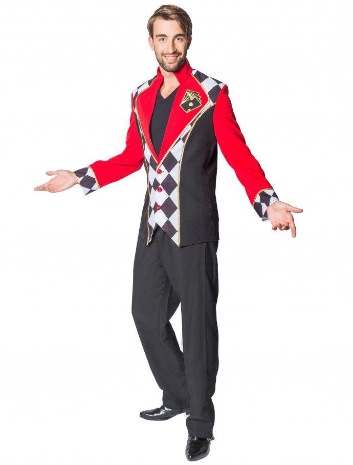 Jacke Poker Herren für Karneval & Fasching » Deiters #Casino