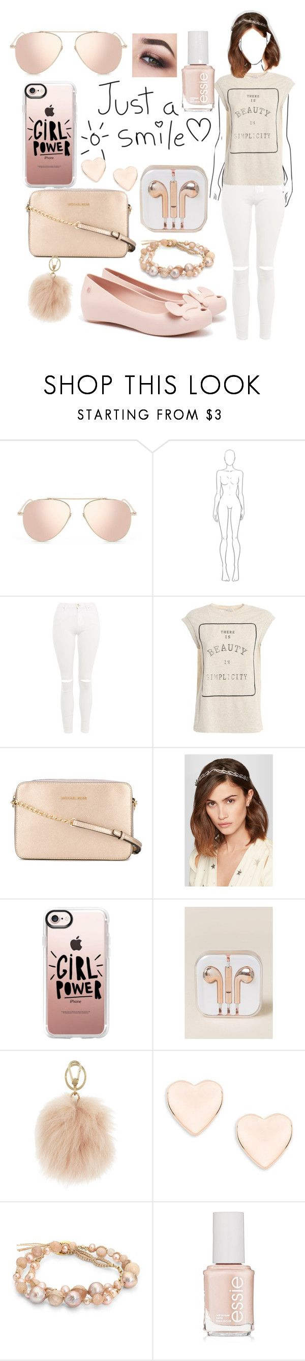 """""""ILYMIX sunglasses combination"""" by majami05 ❤ liked on Polyvore featuring Topshop, Brunello Cucinelli, Michael Kors, Jennifer Behr, Casetify, OK Originals, Furla, Ted Baker, Chan Luu and Essie"""