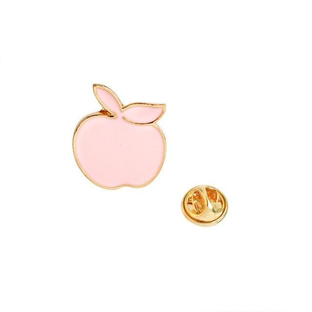 Pastel + Gold Brooches