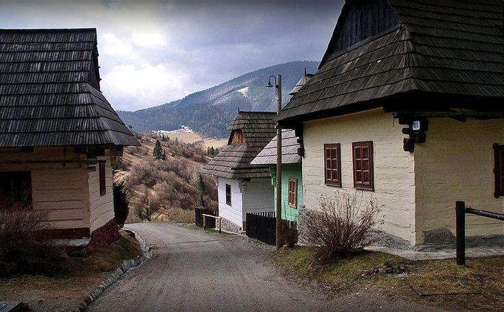 Slovensko - Vlkolinec