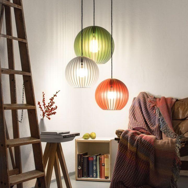IUMI – AION | Holzpendelleuchte, Wohnzimmeruhren, Große lampen