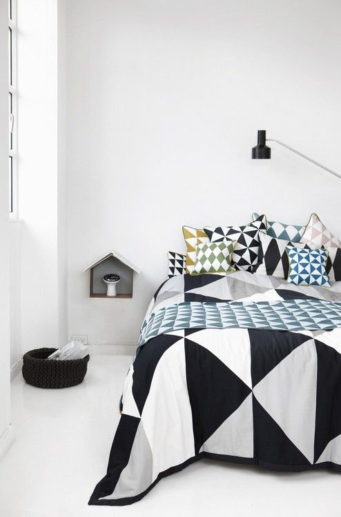 crazy about that bedspread.  Ferm Living