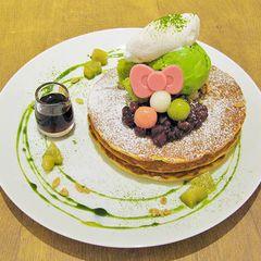 東京・お台場のハローキティカフェから、抹茶の和スイーツ3種が限定発売の写真3