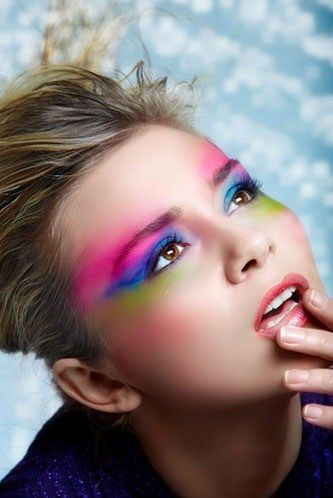 #Trucco per #occhi colorato
