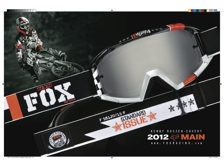Óculos Fox Main Covert Ops    #oculos #fox #motocross