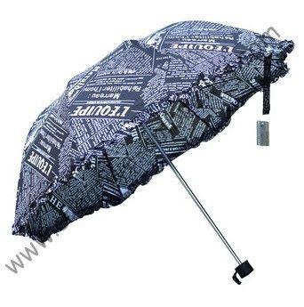 >> Click to Buy << Three fold  umbrellas,hand open,parasol,sunshade,supermini,arced umbrellas,lacing,English newspaper design,creative raingear #Affiliate