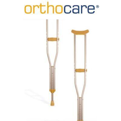 Çocuklarda duruş bozukluklarını gidererek vücudun dik durmasına yardımcı,ortopedik rahatsızlıklara karşı destek olan #Orthocare Crutch Junior ( #Alüminyum #Koltuk #Değneği - Çocuk) 8121 ürününü kullanabilirsiniz.Diğer Çocuk Boyları Medikal Ürünlerine http://www.portakalrengi.com/cocuk-boylari-medikal-urunler sayfamızdan ulaşabilir detaylı bilgi edinebilirsiniz.