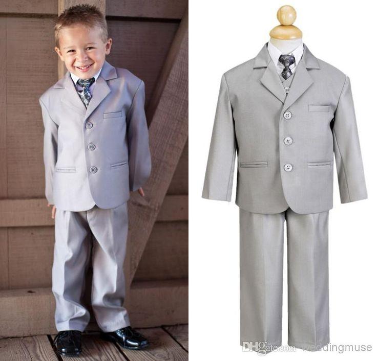 7 best Grey tuxedos for ring bearer images on Pinterest | Gray tux ...