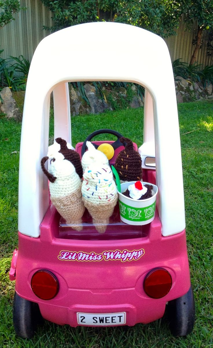 Giggleberry Creations!: Lil' Miss Whippy - Cozy Coupe Makeover!