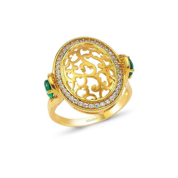 Altınbaş Efsane - 22 Ayar Altın Yüzük    #22ayar #altın #tasarım #efsane #motif #tarihi #osmanlı #takıları