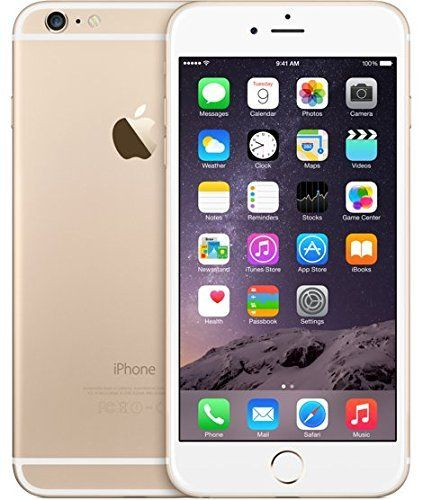 Apple iPhone 6 plus unlocked Cellphone, 128GB (Gold)