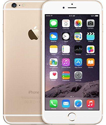Apple iPhone 6 plus unlocked Cellphone, 128GB (Gold)