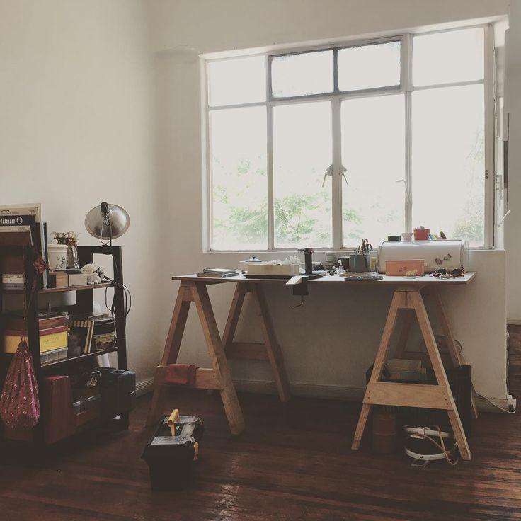 Mi esquina favorita. My favorite corner. #relax #home #workbench #jewellry #jewelry #coloniaromanorte