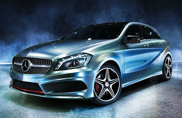 Mercedes-Benz A-Class. The pulse of a new generation.