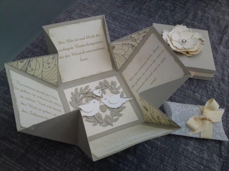 Tortenträume & mehr ...: Explosion Box zur Hochzeit