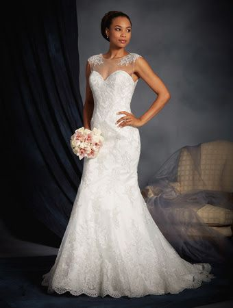 Alfred Angelo 2529 - Mermaid and fishtail gowns - Sugar and Spice UK - Lincoln