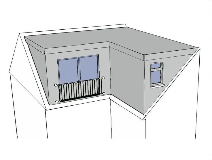 L Shape Dormer Diy Loft Conversion Plans Loft Dormer