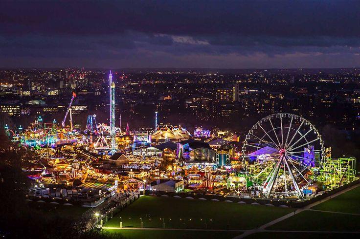 Mercadillo y feria de Winter Wonderland, en Londres - Los mejores mercadillos navideños de Europa