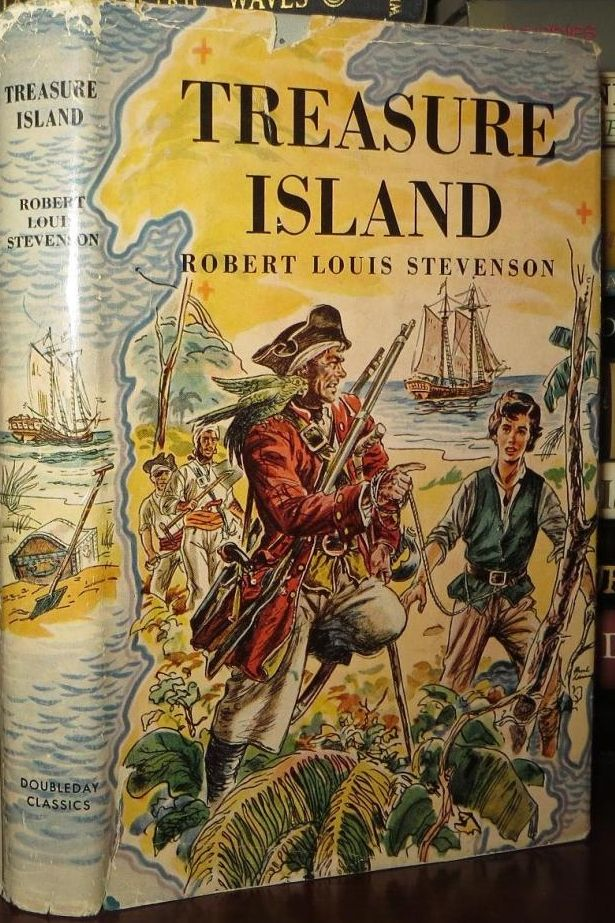 an analysis of the characters of interest in treasure island by robert louis stevenson Here, he meets the wild-looking ben gunn, another of flint's old crew gunn reveals that flint had buried the treasure on the island with the help of six men quotations from treasure island, the works of robert louis stevenson, swanston edn, vol vi (london: chatto and windus, 1911.