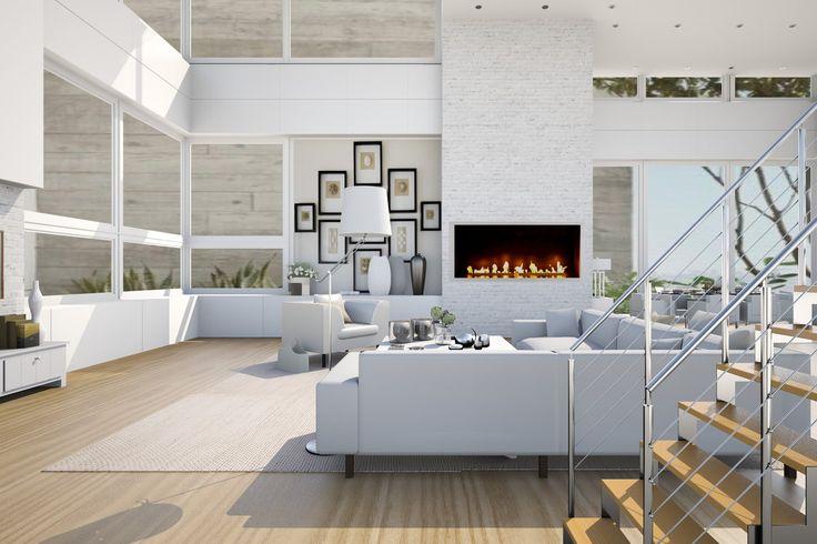 Roomstyler bureau pinterest architectuur voor het huis en interieur - Foto moderne inbouwkeuken ...