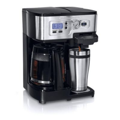 Hamilton Beach® Deluxe 2-Way Brewer with K-Cup - Sears | Sears Canada
