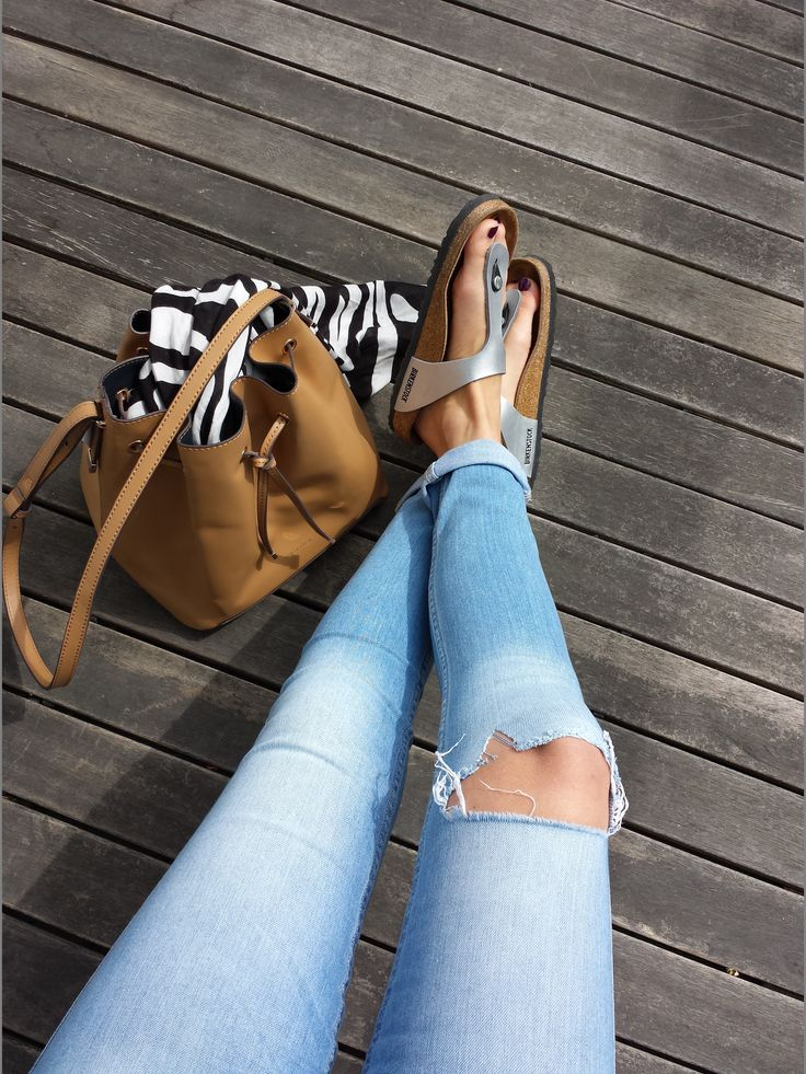 I really want these silver Birkenstock sandals