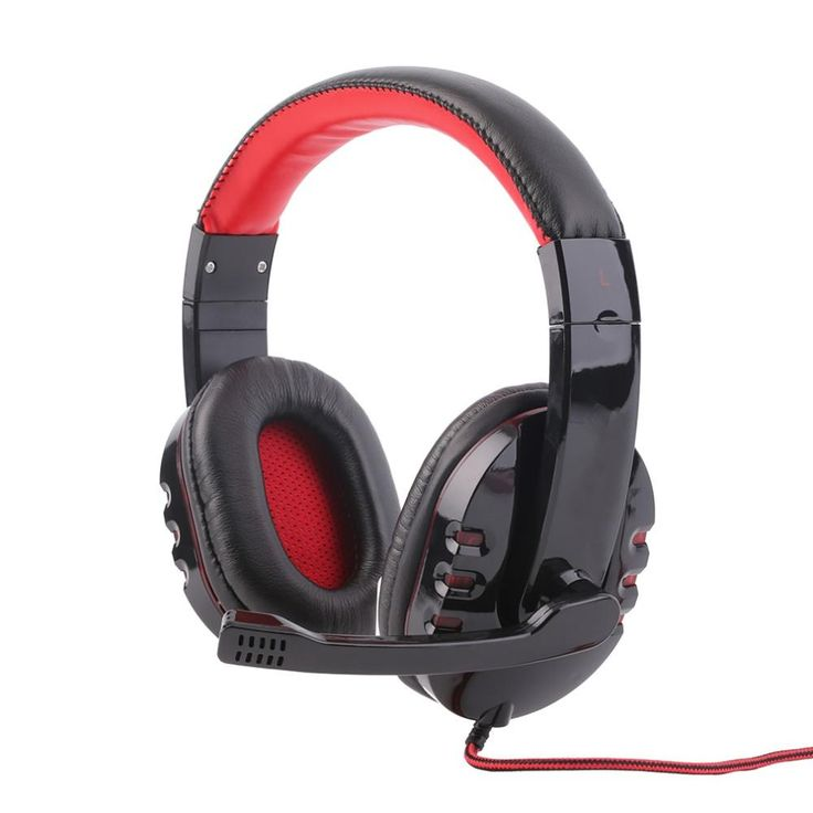 Stereo Surround Sound Gaming 3.5mm Headphone with Microphone