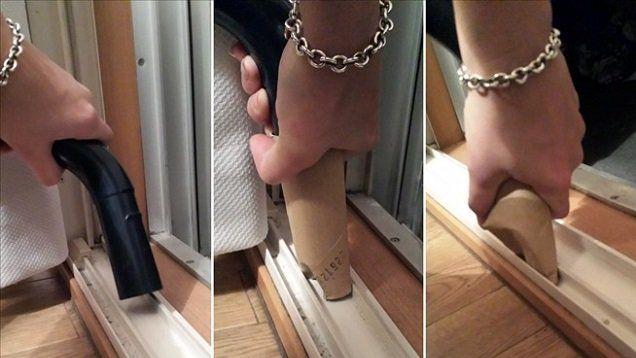 wc rol op stofzuiger voor moeilijke plekjes