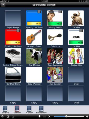 Med appen SoundSlate kan du skapa kommunikationskartor. I den här listan lägger jag även till ett You Tube klipp som Britt Hansson (Skoldatatek Norrbotten) gjort om hur appen fungerar.