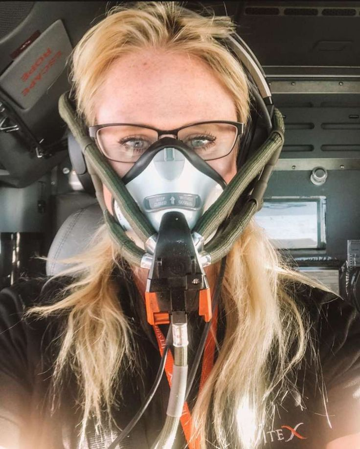 Pin by JCVR on female pilot in 2020 Mask girl, Gas mask