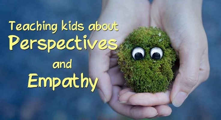 A great little activity to teach kids how our experiences shape our perspectives and empathy is the key to understanding.