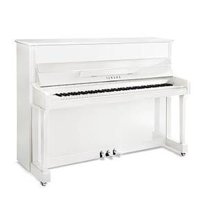Piano droit YAMAHA P116M SH PWH